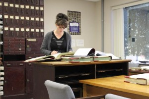 1-Kathy-at-the-County-Records-Office-in-Wilkes-County-North-Carolina